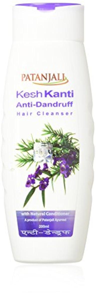 性差別置くためにパック意志に反するPATANJALI Kesh Kanti Anti-Dandruff Hair Cleanser Shampoo, 200ML by Patanjali