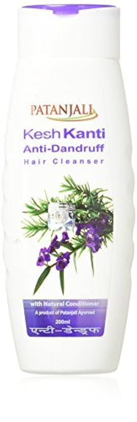 忠実ピーク連邦PATANJALI Kesh Kanti Anti-Dandruff Hair Cleanser Shampoo, 200ML by Patanjali