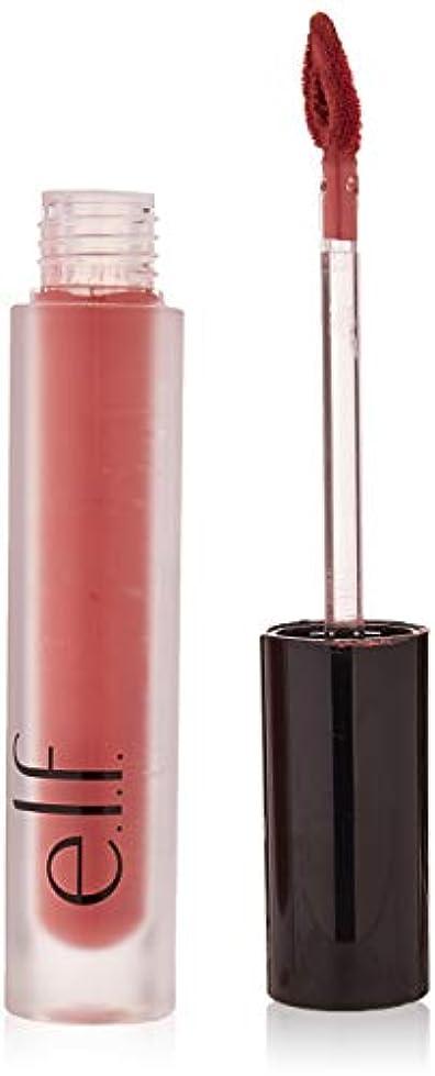 スポーツ球状保証e.l.f. Liquid Matte Lipstick - Mauvelous (並行輸入品)