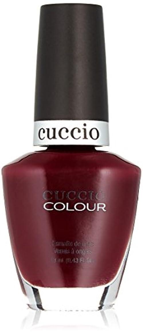 ダニ治安判事無視するCuccio Colour Gloss Lacquer - Positively Positano - 0.43oz / 13ml
