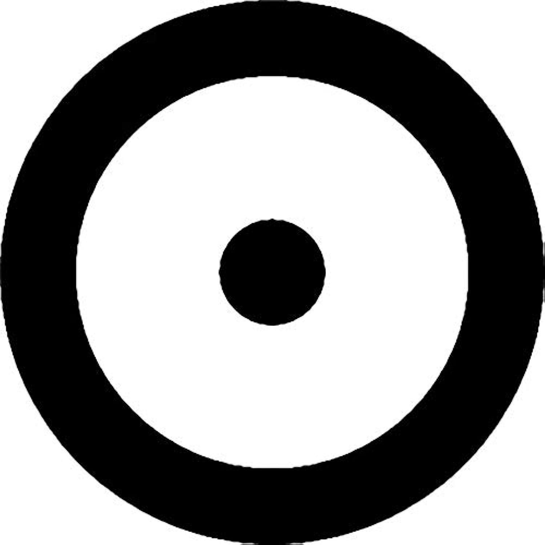 家紋シール 蛇の目紋 布タイプ 直径40mm 6枚セット NS4-3521