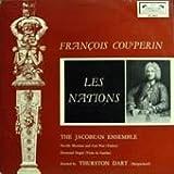【※CDではありません】F.クープラン:諸国の人々~神聖ローマ帝国の人々,ピエモンテ人【中古LP】