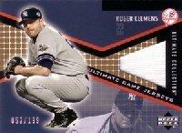 ロジャークレメンス/Roger Clemens 2002 Upper Deck Ultimate Collection Jersey 199枚限定