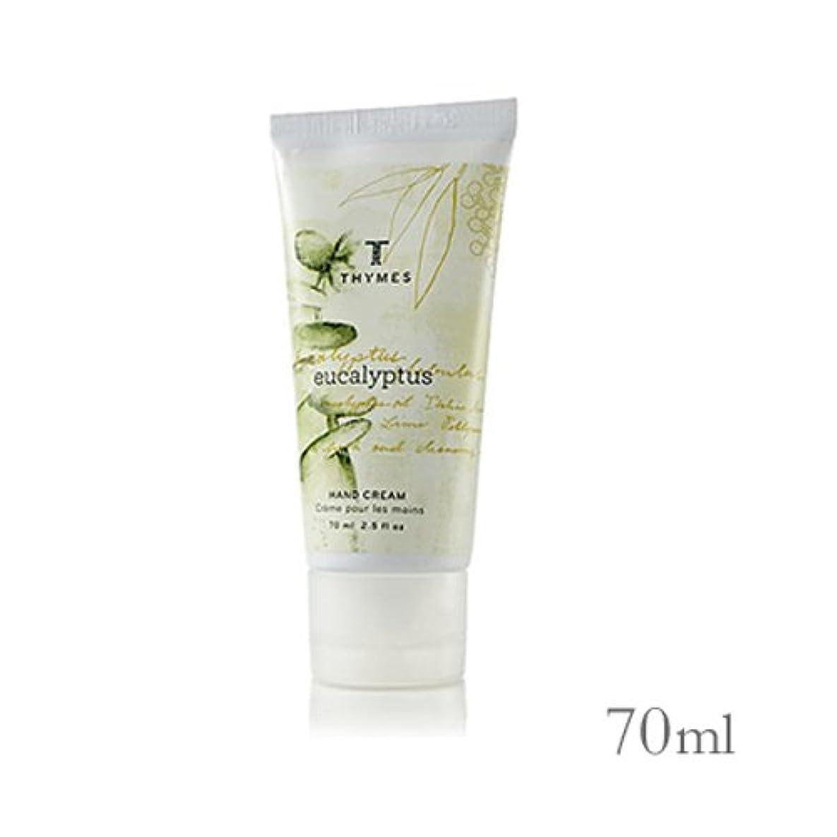 冊子輝度偽善THYMES タイムズ ハンドクリーム 70ml ユーカリ Hand Cream 2.5 fl oz Eucalyptus [並行輸入品]