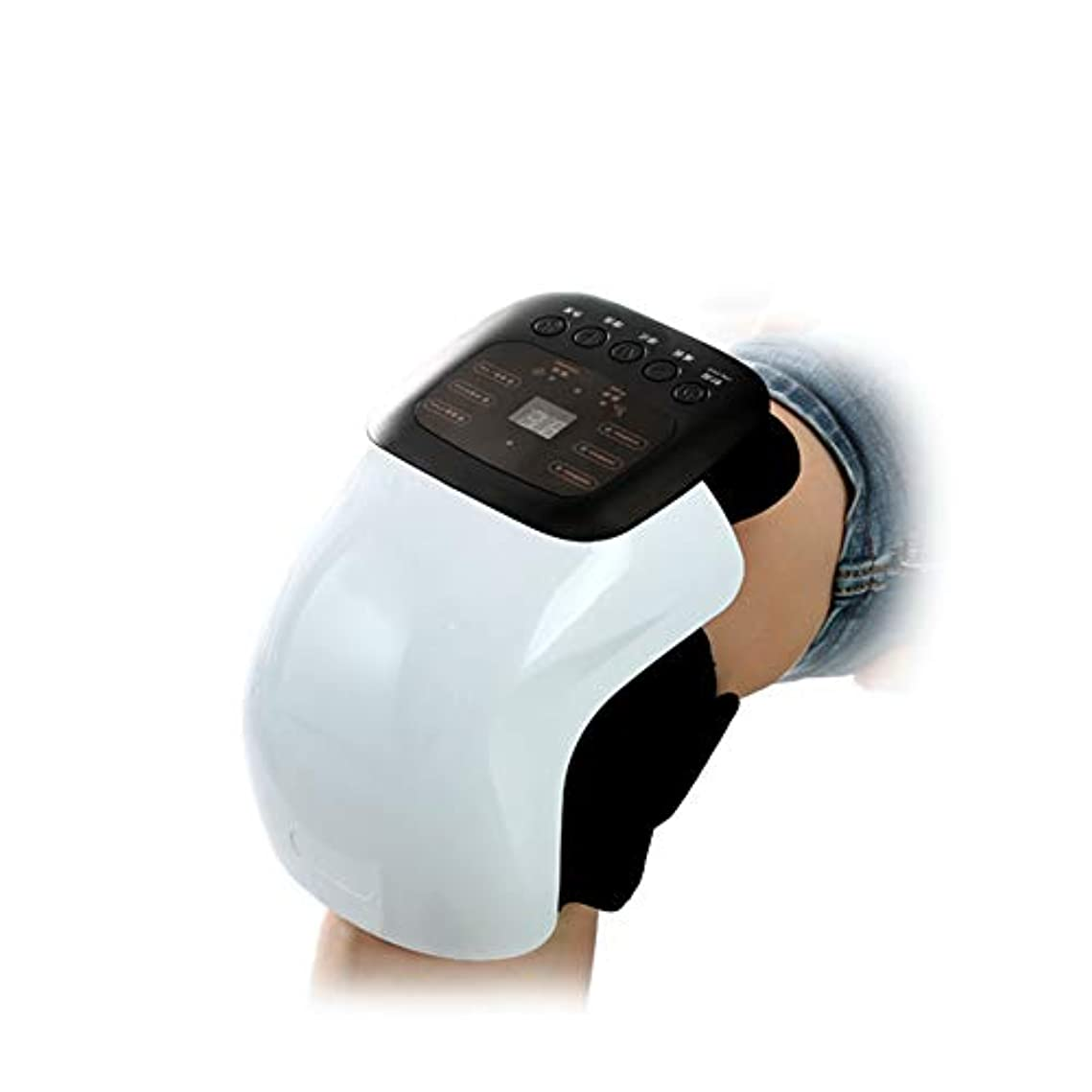 アブセイなくなるアンテナ変形性関節症リウマチ関節炎、電気痛緩和ケア用品のためのパルス、振動、加熱を伴うスマートニー理学療法マッサージ器