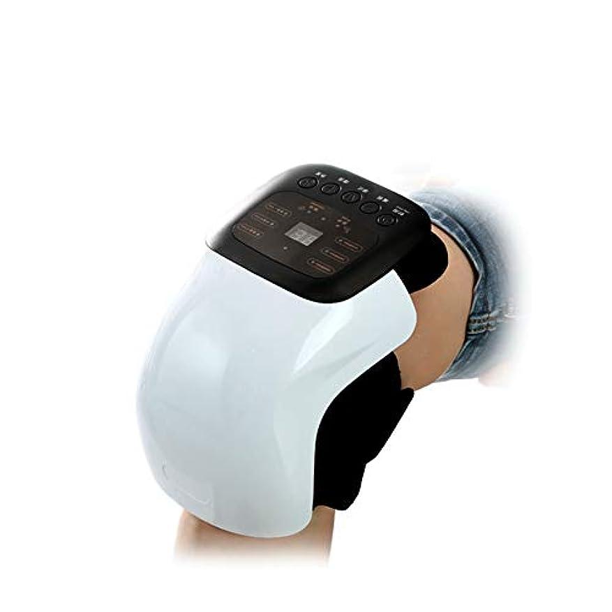 スポーツバイオリニスト物足りない変形性関節症リウマチ関節炎、電気痛緩和ケア用品のためのパルス、振動、加熱を伴うスマートニー理学療法マッサージ器
