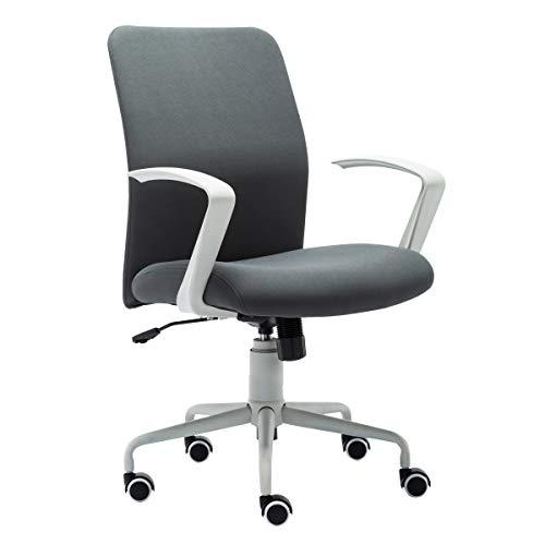 オフィスチェア デスクチェア パソコンチェア メッシュ ロッキング 高級 おしゃれ シンプル 肘付き 昇降機能 360度回転 コンパクト イス スタイリッシュ グレー