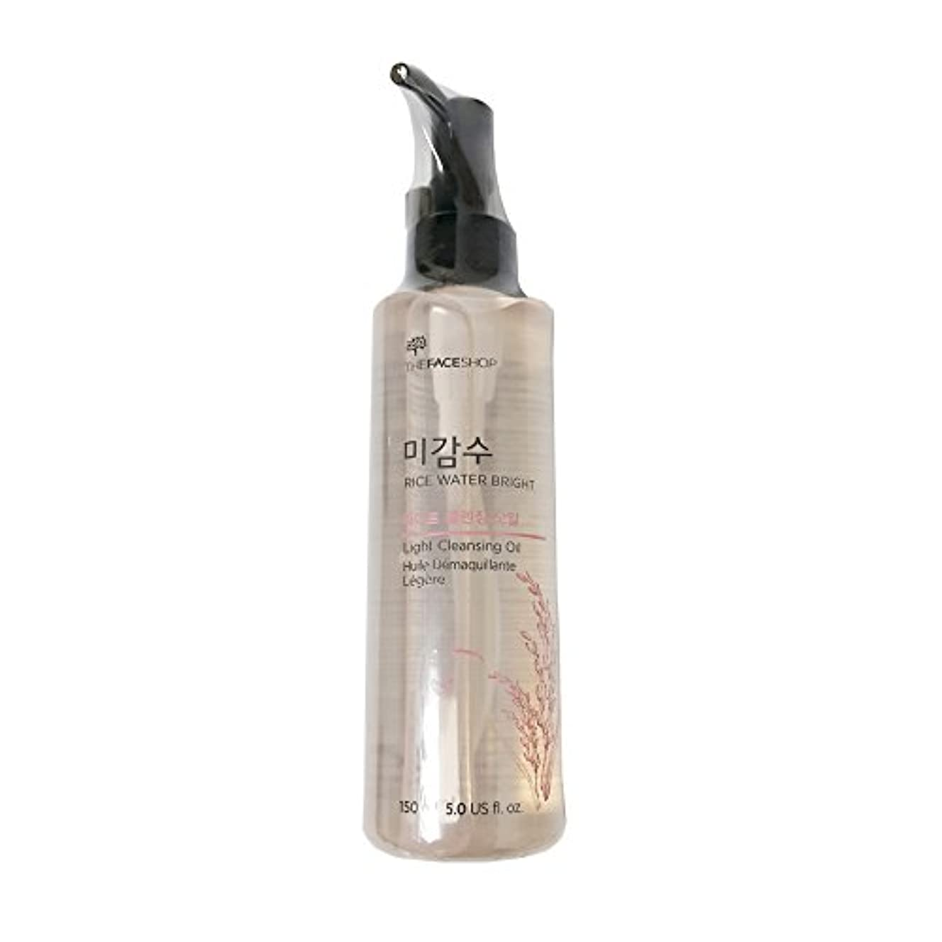 付録綺麗な納税者[ザ·フェイスショップ ]The Face Shop ライスウォーター ブライト クレンジングライトオイル(150ml) 2015.8月リニューアル製品  The Face Shop Rice Water Bright Light Cleansing Oil(150ml) 2015.August Renewal Product [海外直送品]
