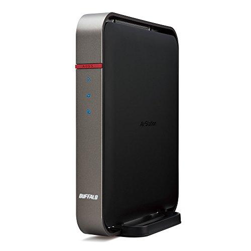 BUFFALO 11ac(Draft) 1300プラス450Mbps 無線LAN親機 WZR-1750DHP2