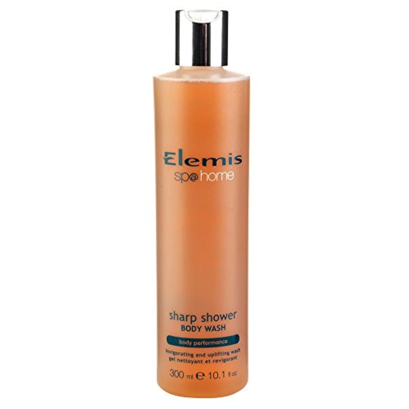 かんたん若さ窒素エレミスシャープシャワーボディウォッシュ300ミリリットル (Elemis) (x2) - Elemis Sharp Shower Body Wash 300ml (Pack of 2) [並行輸入品]