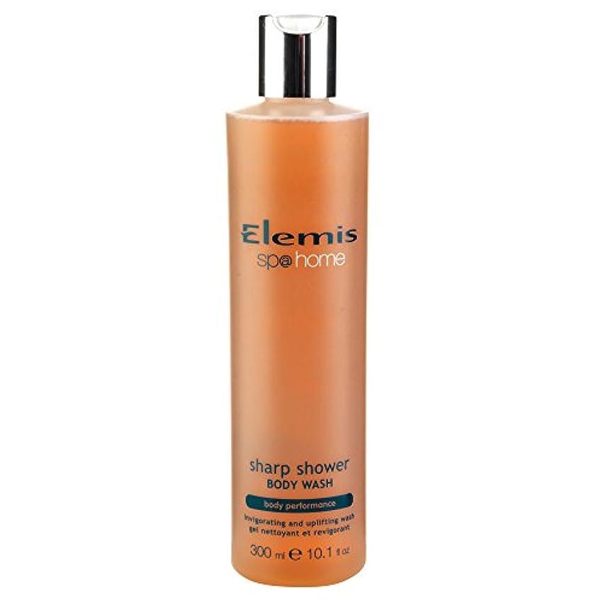 社会主義謙虚な暗くするエレミスシャープシャワーボディウォッシュ300ミリリットル (Elemis) (x6) - Elemis Sharp Shower Body Wash 300ml (Pack of 6) [並行輸入品]