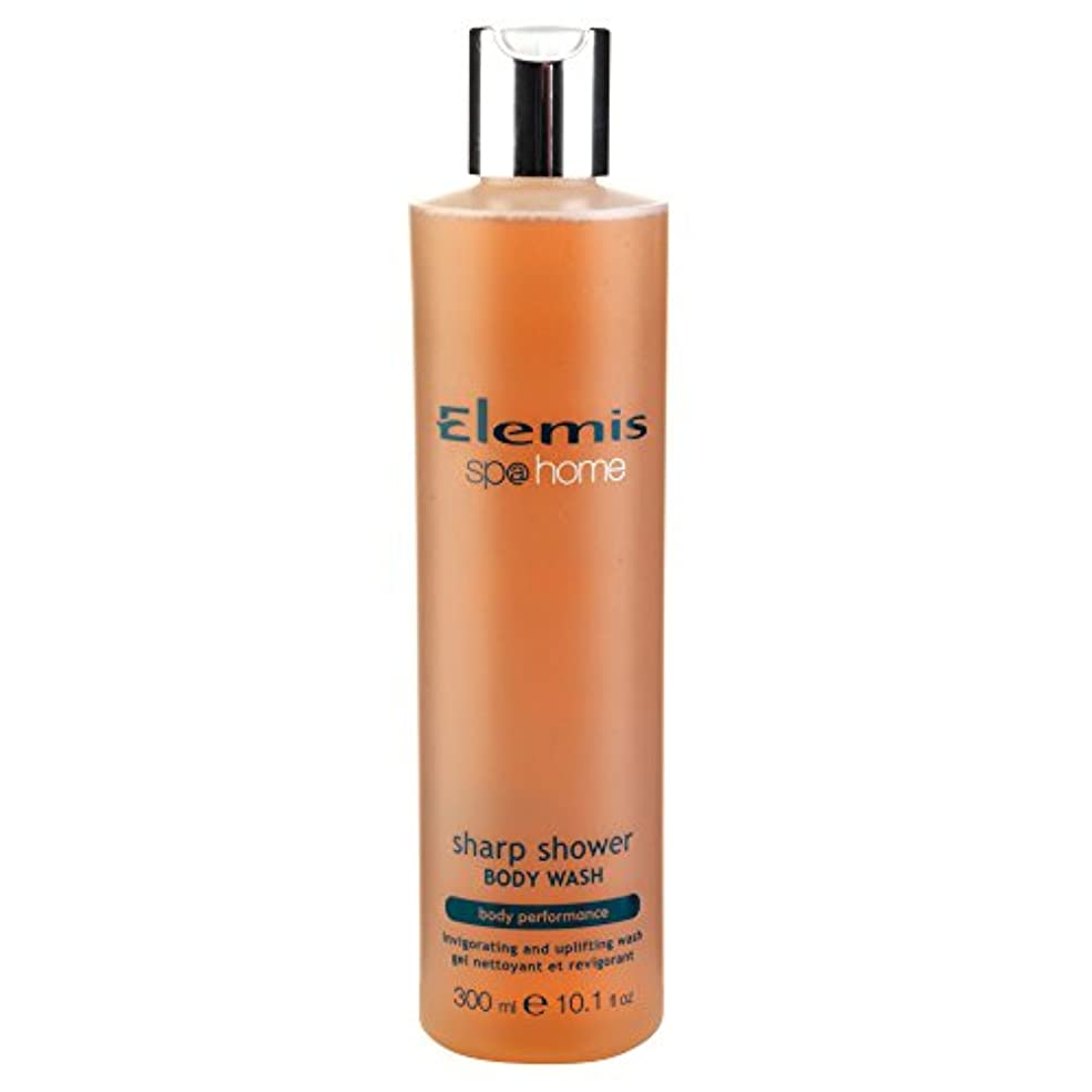 有用ベンチに慣れエレミスシャープシャワーボディウォッシュ300ミリリットル (Elemis) (x6) - Elemis Sharp Shower Body Wash 300ml (Pack of 6) [並行輸入品]