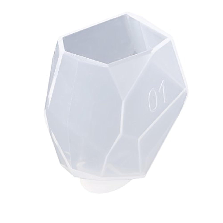 ノーブランド品 DIY シリコーンモールド 樹脂 ジュエリー 作り 工芸品 金型 3様式選ぶ - 様式1