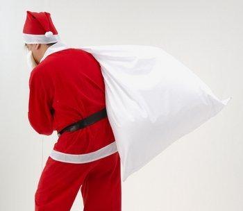 サンタさんの大きな袋
