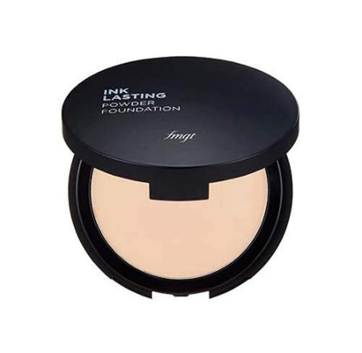ネブより多い雪[ザ・フェイスショップ] THE FACE SHOP [インクラスティング パウダー ファンデーション 9g] (Ink Lasting Powder Foundation SPF30 PA++ 9g) [海外直送品] (V203 - Natural Beige)