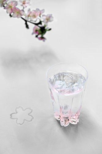 跡が桜の花びらの形になるタンブラー