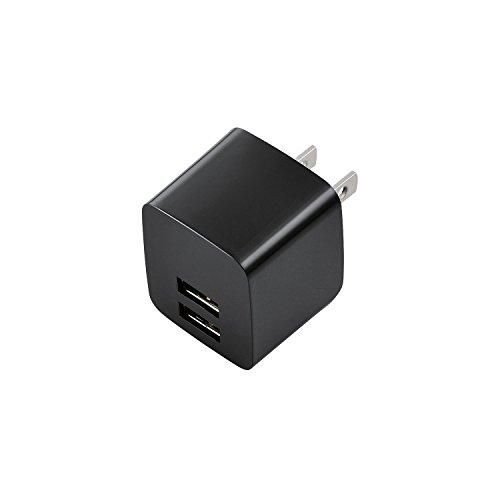 ELECOM スマートフォン タブレット用AC充電器 iPh...