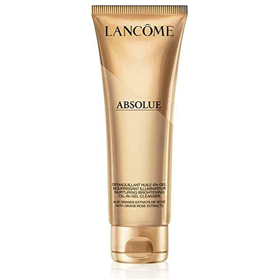 カプラー鈍い把握ランコム Absolue Nurturing Brightening Oil-In-Gel Cleanser 125ml/4.2oz並行輸入品