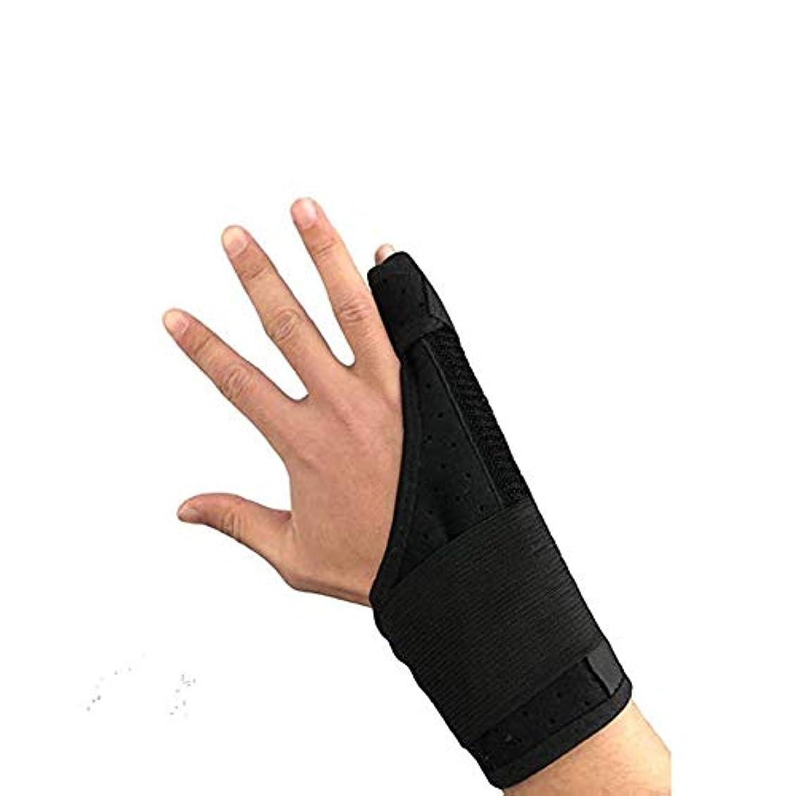 名前を作る甘美な認可痛みを軽減、手根管関節炎のクランプサポート通気性の手首と親指ブロークン?スタビライザーニーパッドを指