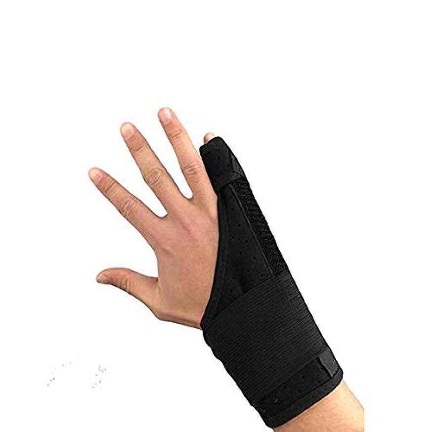 持っている大型トラック航空会社痛みを軽減、手根管関節炎のクランプサポート通気性の手首と親指ブロークン?スタビライザーニーパッドを指