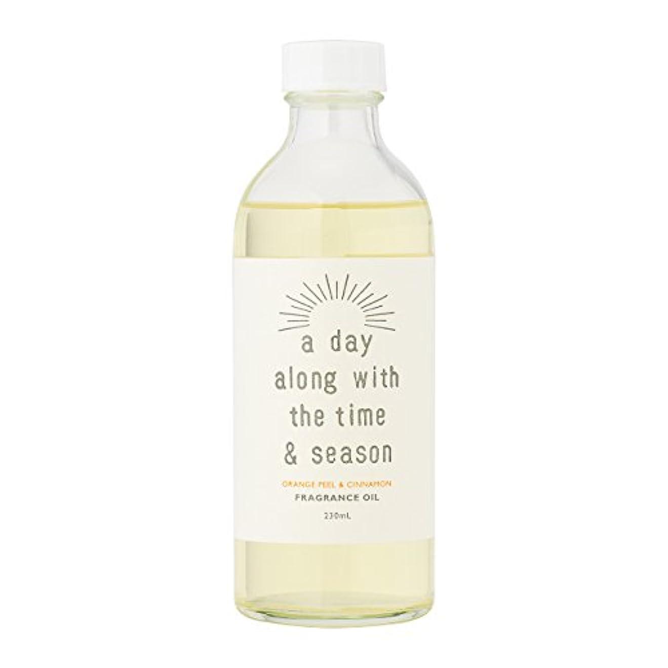咳相談奨励しますアデイ(a day) リードディフューザー リフィル オレンジピール&シナモン 230ml(芳香剤 詰め替え用 甘酸っぱくて爽やかなオレンジピールにシナモンがふわりと広がる香り)
