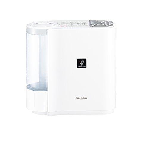 シャープ 加湿器 プラズマクラスター搭載 気化式パーソナルタイプ ホワイト系 HV-E30-W