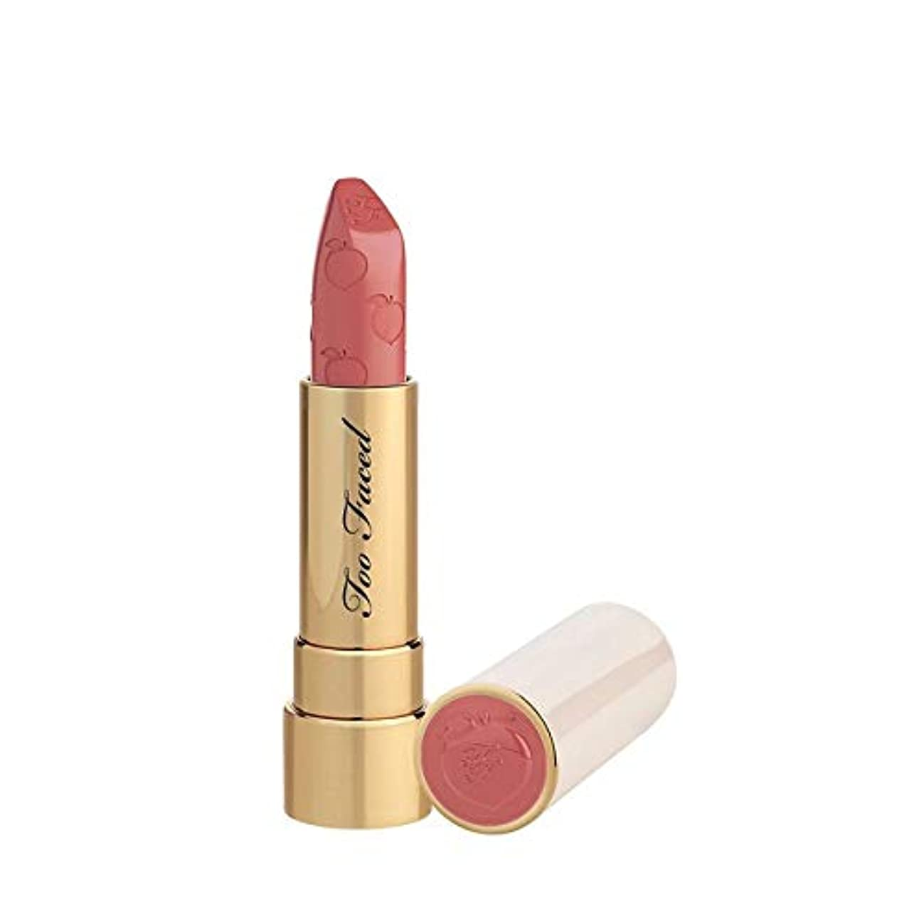 収容する共和国ポーチTOO FACED Peach Kiss Moisture Matte Long Wear Lipstick – Peaches and Cream Collection (Bridezilla)