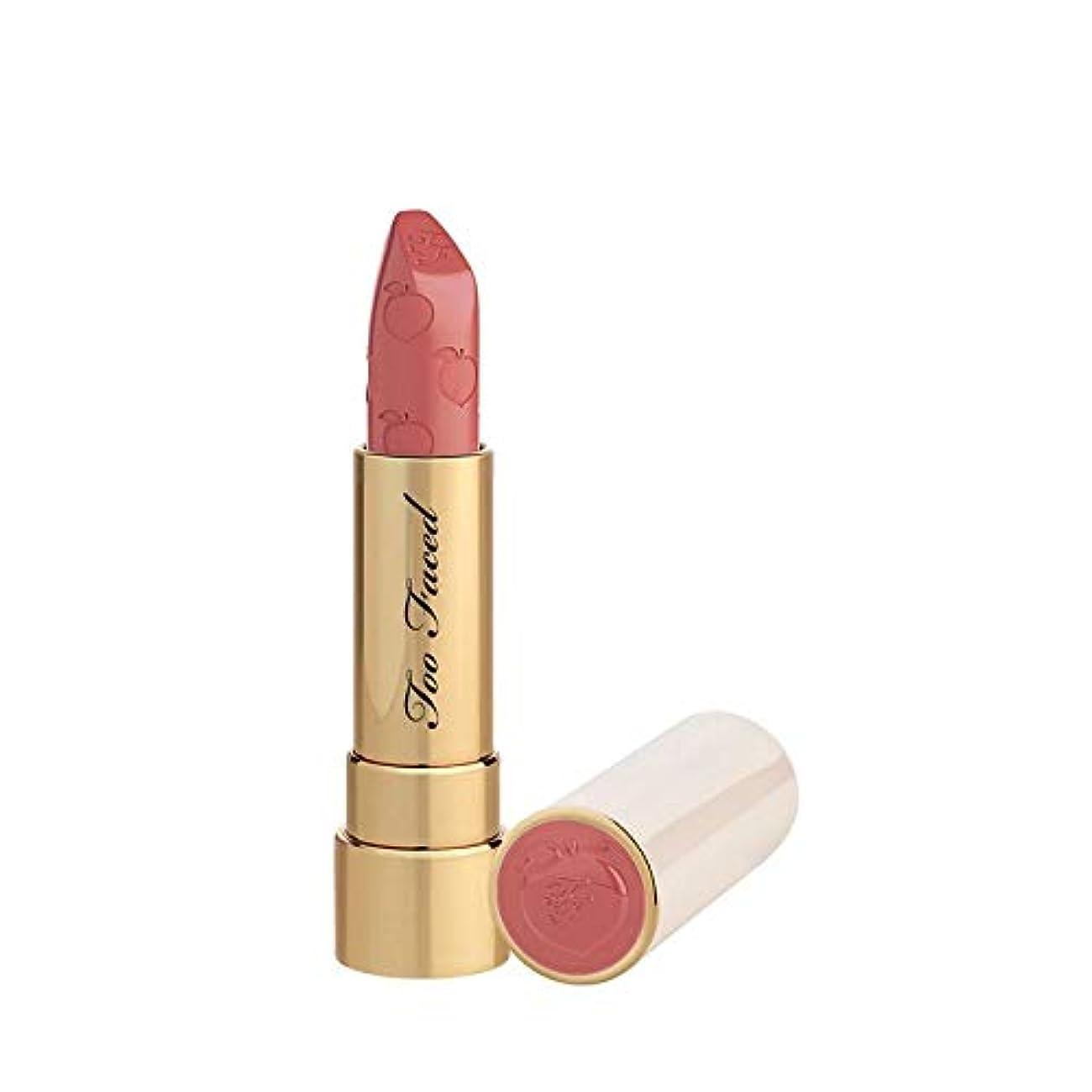 部分フォアマン壊れたTOO FACED Peach Kiss Moisture Matte Long Wear Lipstick – Peaches and Cream Collection (Bridezilla)