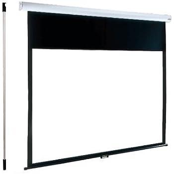 泉 手動式100インチ スプリングロール式天吊スクリーン (アスペクト比16:10) IS-S100V
