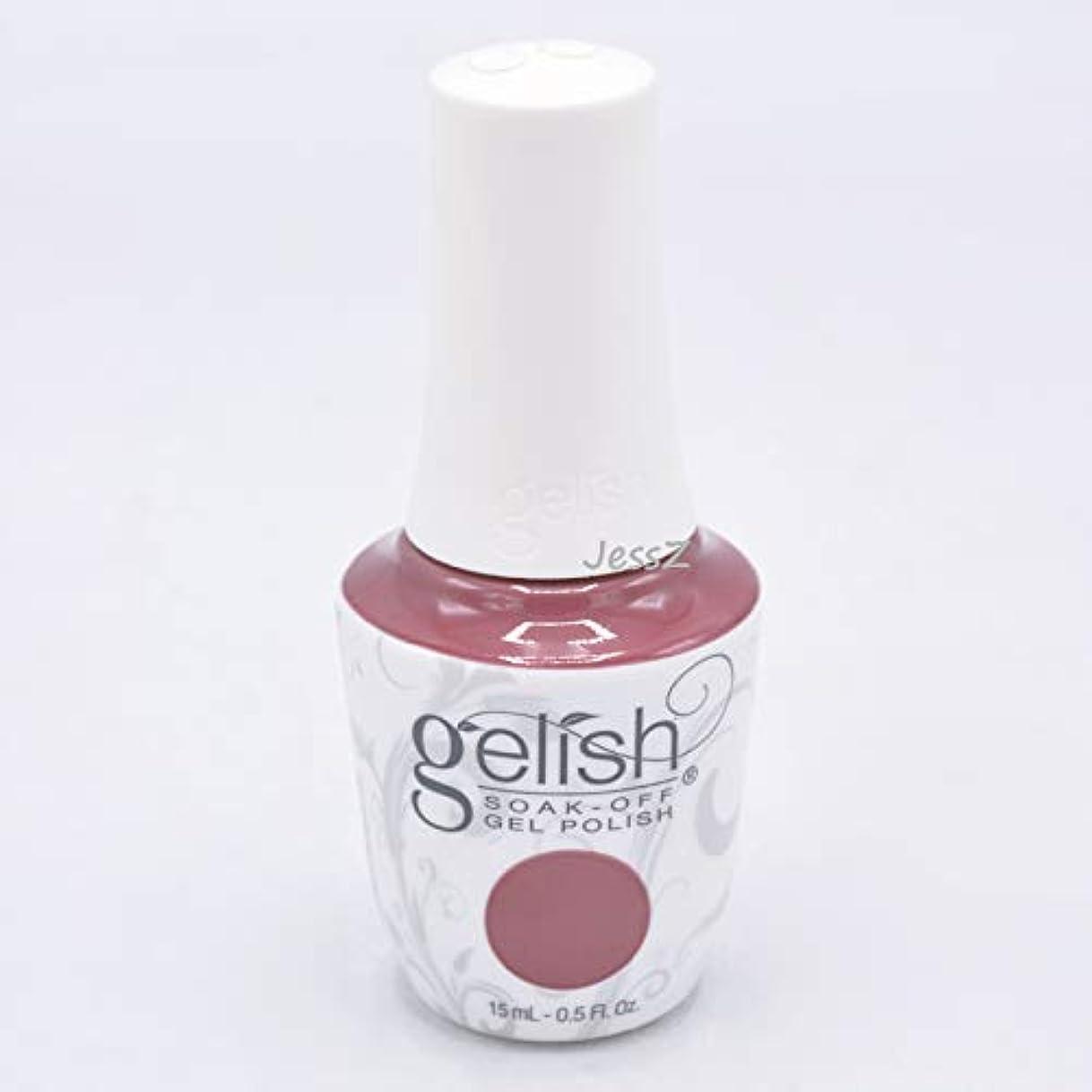 胚モトリー音声学Gelish Soak-Off Gel - African Safari Collection - No Sudden Mauves - 15 ml/05 oz