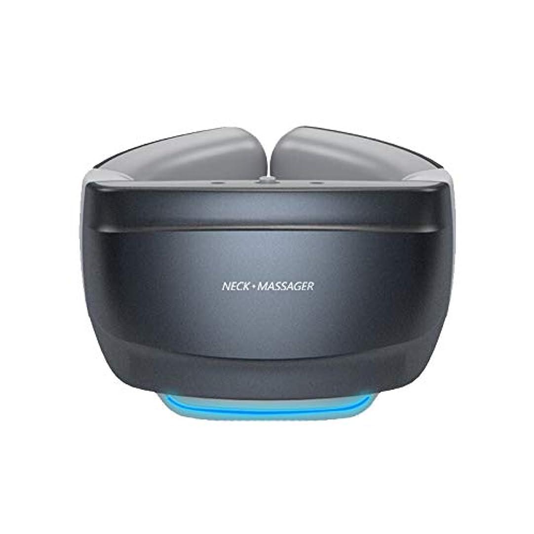 ブース杭アナロジー加熱機能付き多機能スマートネックマッサージャーワイヤレス3Dトラベルネックマッサージ機器バックマッサージャー