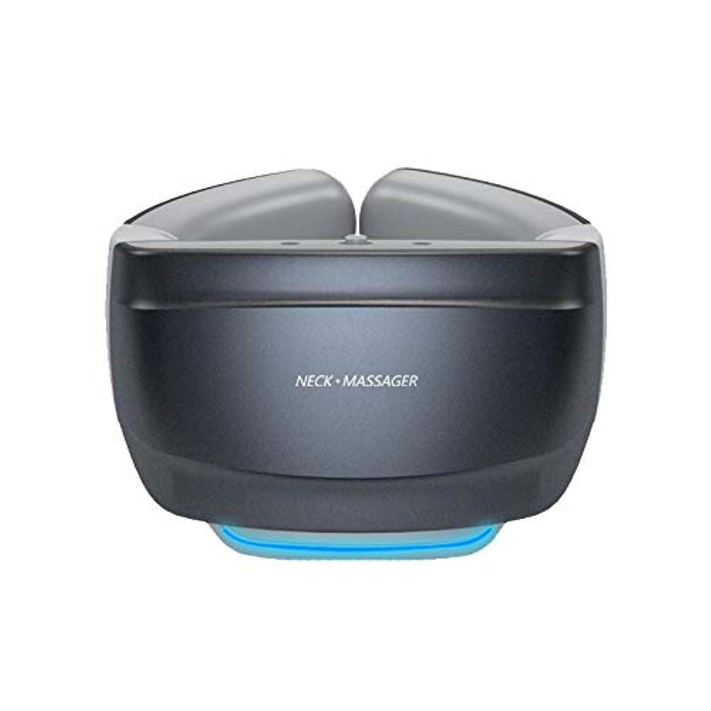 矢告発オーク加熱機能付き多機能スマートネックマッサージャーワイヤレス3Dトラベルネックマッサージ機器バックマッサージャー