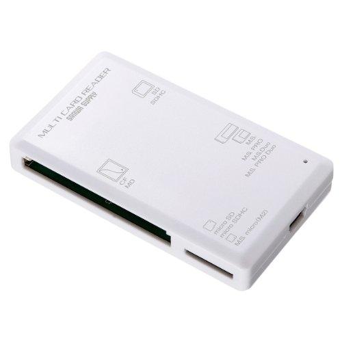 サンワサプライ ADR-ML1W USB2.0 カードリーダー ホワイト ADR-ML1W