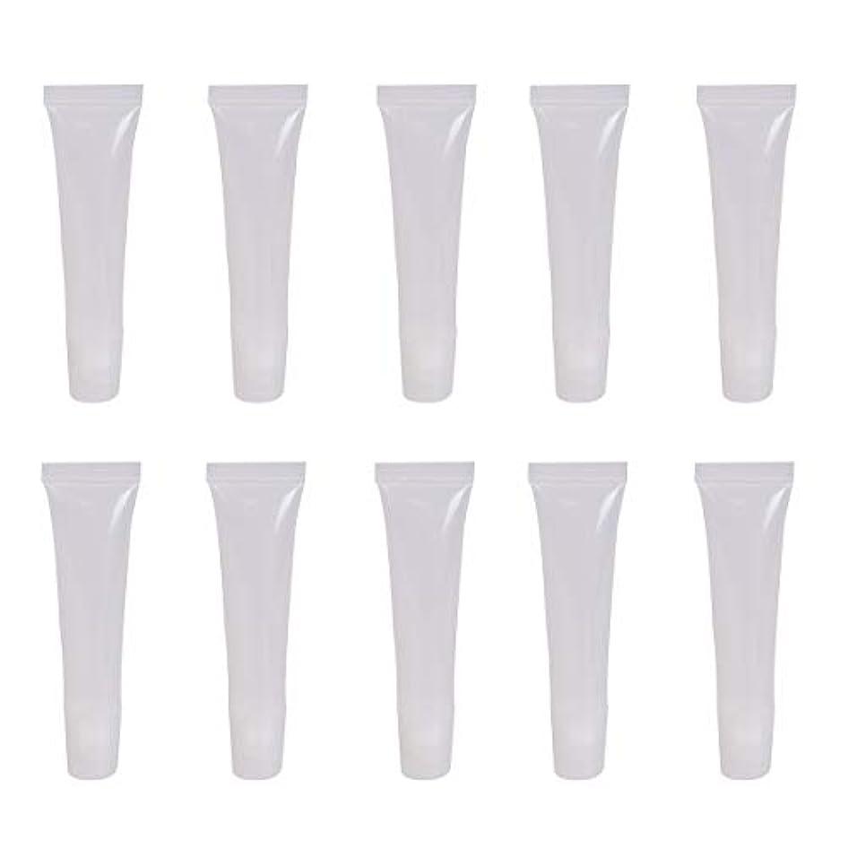 普及縞模様のほうきBaitaihem リップグロスチューブ 透明 ミニ リップグロス容器 8ml 手作り化粧品容器 25個セット
