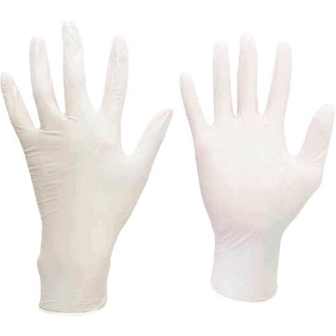 指導する霧深い政府ミドリ安全/ミドリ安全 ニトリル使い捨て手袋 極薄 粉なし 100枚入 白 M(3889084) VERTE-711-M
