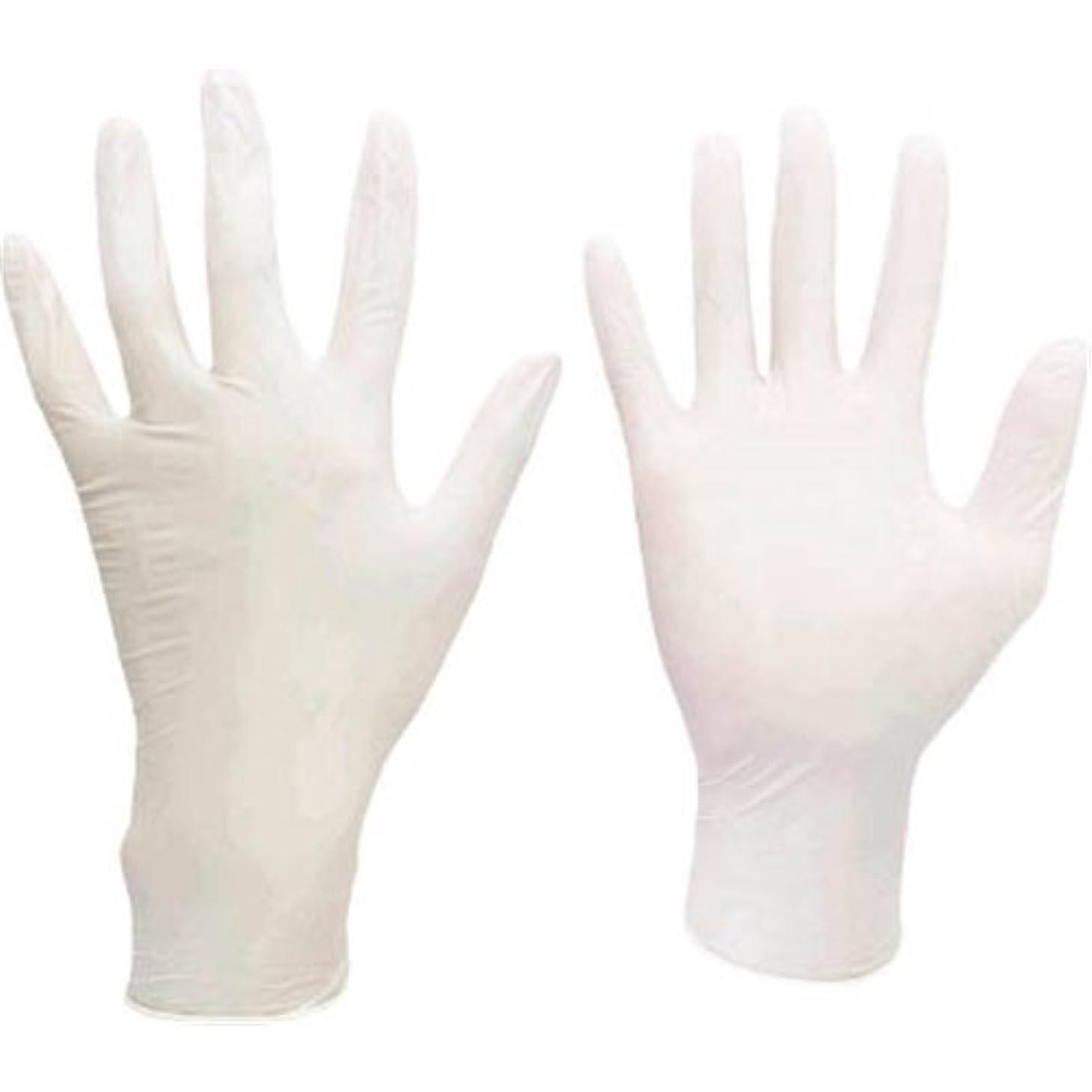 ビヨン水曜日ルールミドリ安全/ミドリ安全 ニトリル使い捨て手袋 極薄 粉なし 100枚入 白 M(3889084) VERTE-711-M