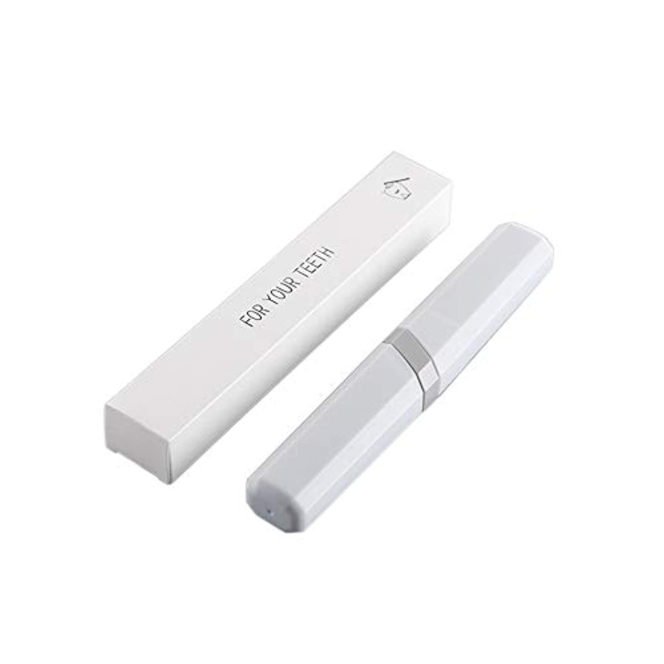 Decdeal 歯ブラシ ポータブル 収納ケース付き アウトドア旅行用