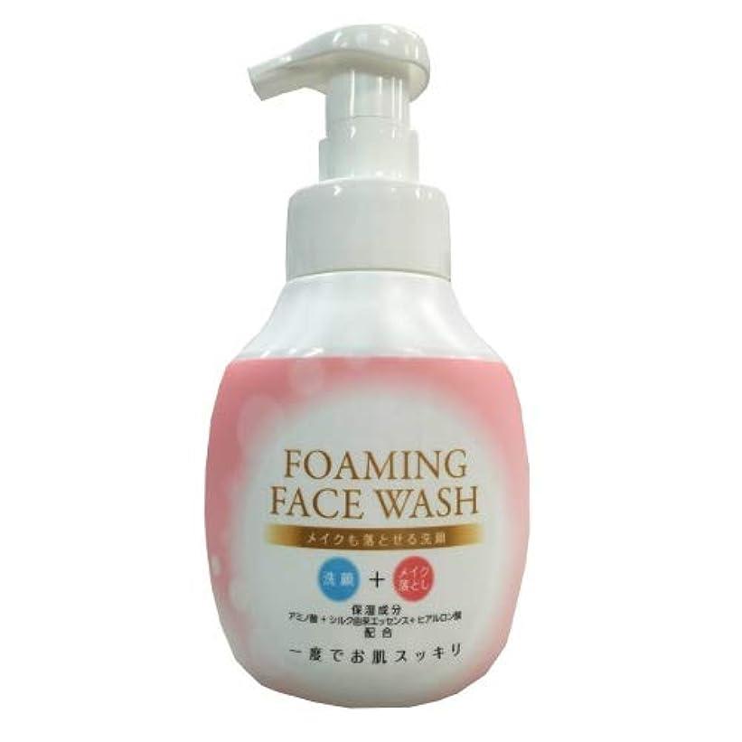 使用法申込み見つけるロケット石鹸 メイクも落とせる洗顔 本体 250ML