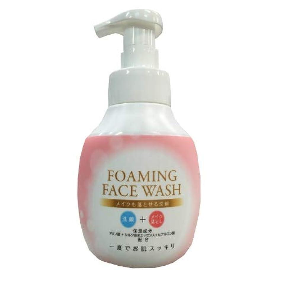 盆換気するハイキングロケット石鹸 メイクも落とせる洗顔 本体 250ML