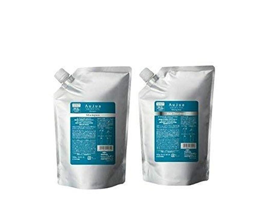 ホーン分類タンパク質ミルボン オージュア AS エイジングスパ シャンプー&トリートメント1000ml(詰め替え用)(正規品)※アイズのまつげコーム付き