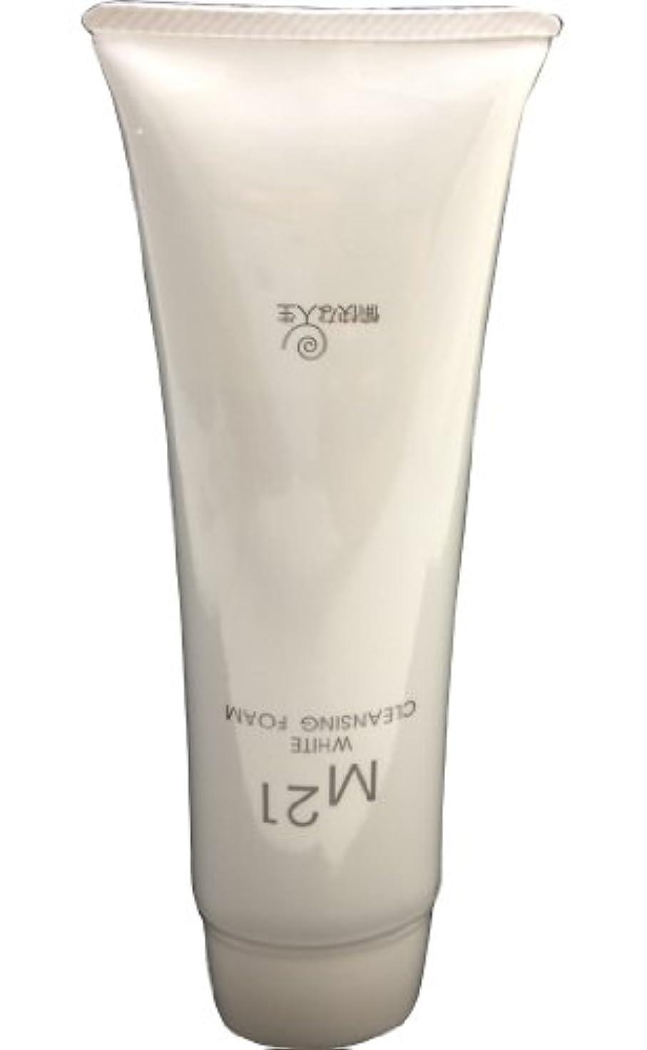 処方する直面する継承M21ホワイトクレンジングフォーム 自然化粧品M21