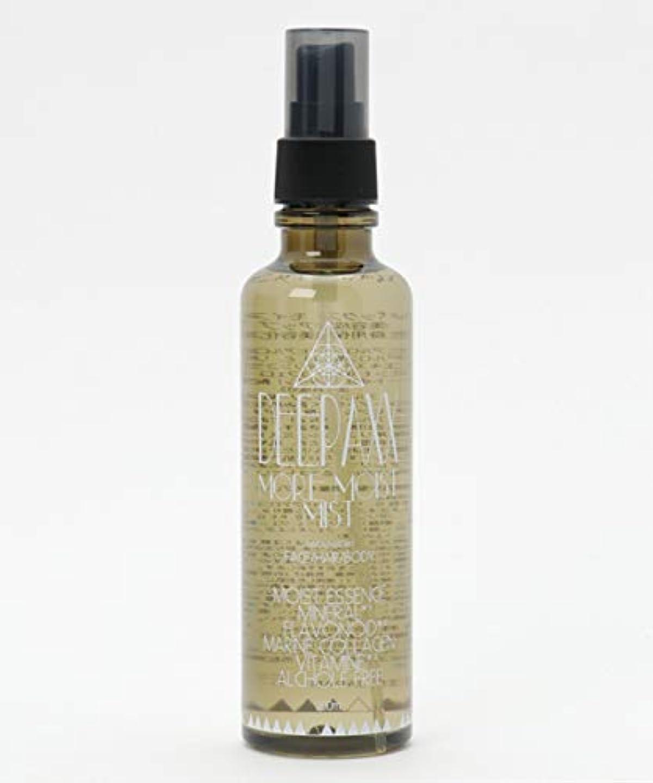広告繁雑に話す[ディーパックス] MORE MOIST MIST 保湿化粧水リフレッシュミスト レディース ONE