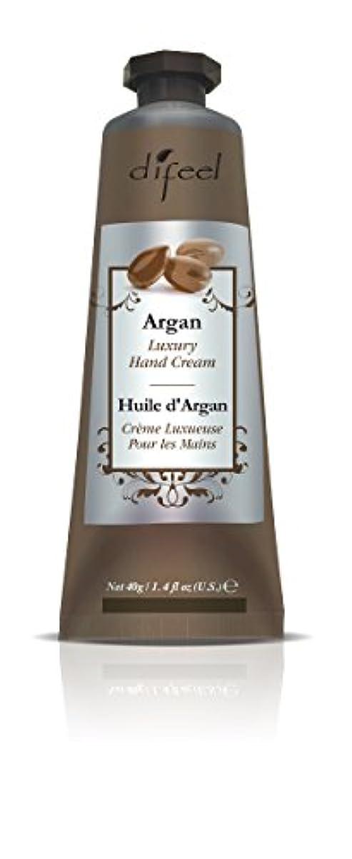 寄付おんどり寛容Difeel(ディフィール) アルガン ナチュラル ハンドクリーム 40g ARGAN 12ARGn New York