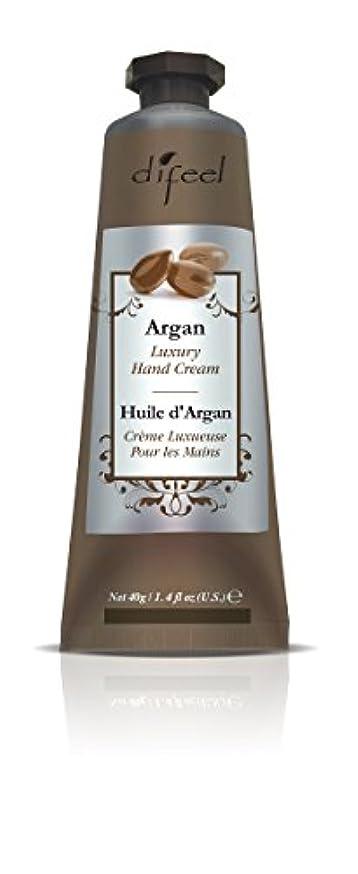 ウェーハ主観的愚かなDifeel(ディフィール) アルガン ナチュラル ハンドクリーム 40g ARGAN 12ARGn New York