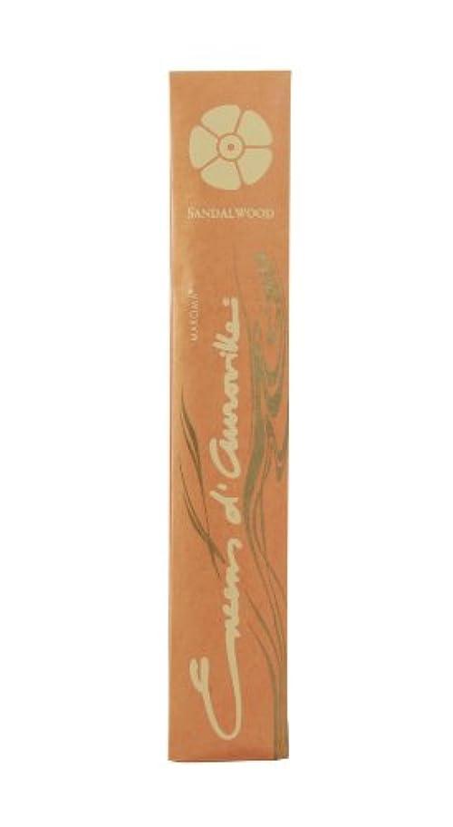 再生可能途方もない虚弱Eda Sandalwood Incense Sticks by Maroma