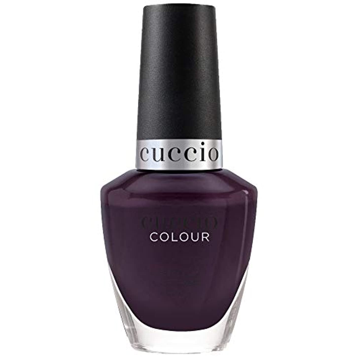 ハンカチ同封するタンザニアCuccio Colour Nail Lacquer - Tapestry Collection - Quilty As Charged - 13 mL / 0.43 oz