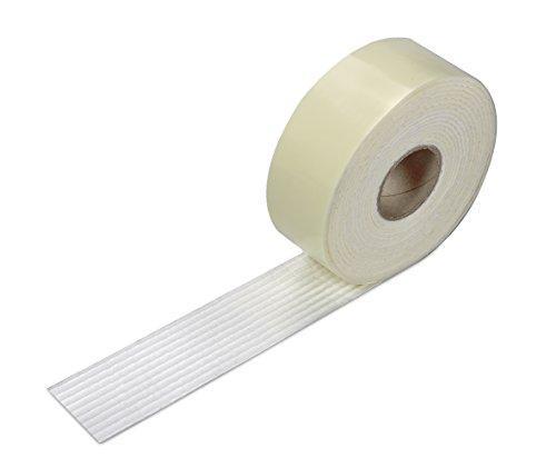 サンコー ズレない 安心 滑り止めテープ カーペット マット 用 4cm×4m おくだけ吸着 日本製 OK-807