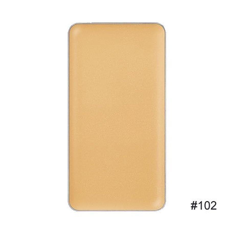 気質ほこりっぽいのぞき穴【RMK (ルミコ)】3Dフィニッシュヌード F (レフィル) ファンデーションカラー #102 3g