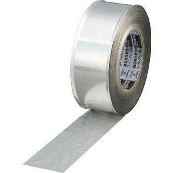 TRUSCO スーパーアルミ箔粘着テープ ツヤあり 幅50mmX長さ50m TRAT50-1 356-5637
