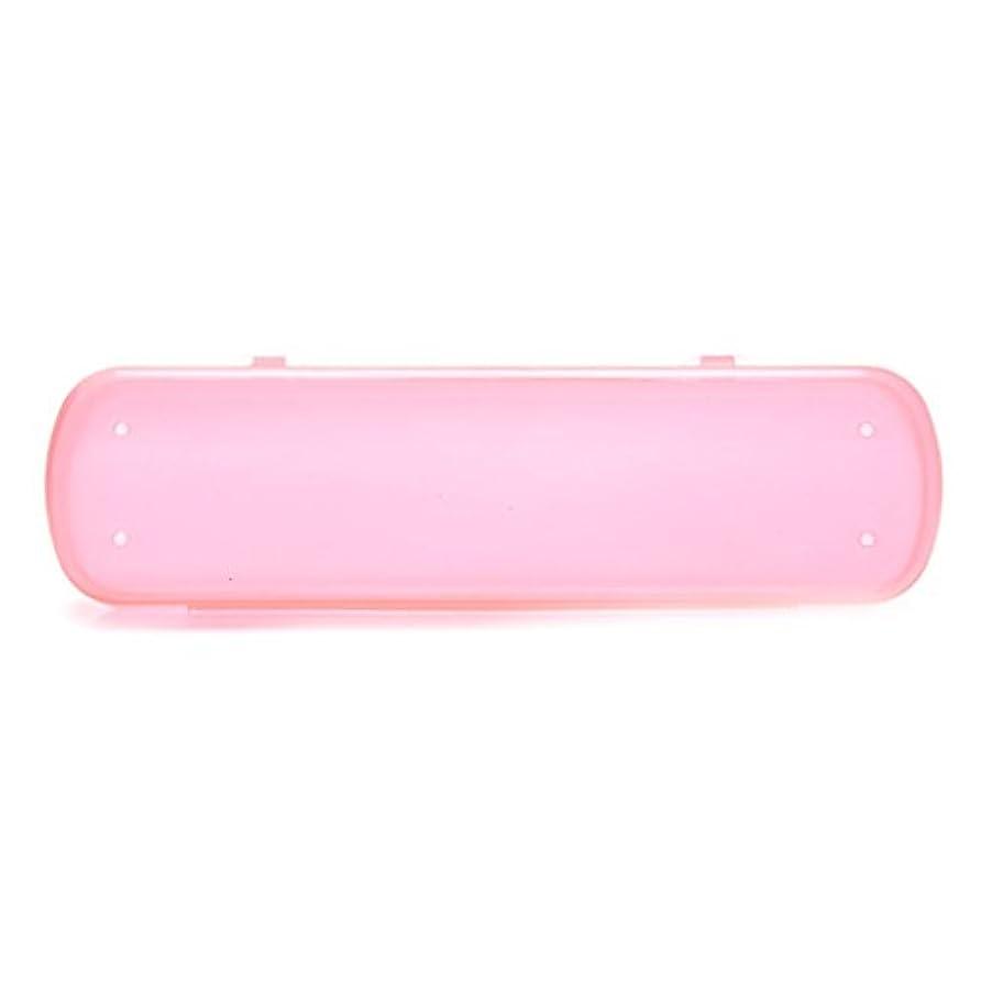 一杯メンタリティカウンタsusada旅行歯ブラシケースグリーン健康環境Portative色ストレージバッグ ピンク